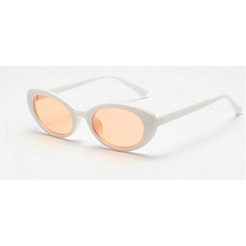 GBST Cat Eye Sunglasses Women Sunglasses Fashion Stylish Sun Glasses for Ladies Brand Design Eyewear,White orange
