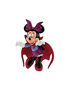 Minnie Mouse- Figura Minnie Vampira 6,5cm de Mickey Mouse Monster Muñecas (BULLYLAND 1)