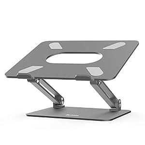 BoYata Laptop ständer: Multi-Angle-Standfuß mit Heat-Vent, Aluminium Einstellbares Notebook ständer kompatibel für…