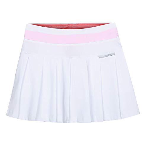 Damen Athletic Active Skort Rock mit Shorts und Tasche für Dress Running Tennis Golf Workout (3,XL)