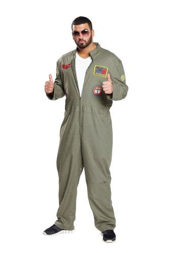 Rubie's 1 4622 50 - Kampfpilot Overall Kostüm, Größe 50
