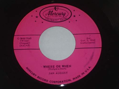 Jalousie / Where Or When [Vinyl Single 7''] (Jalousien Vinyl)