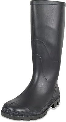 PVC Unisex Erwachsenen Stiefel Farmer Gummistiefel Arbeitsstiefel Gartenstiefel Regenstiefel nach EN 20347 [Größe: 37-48]