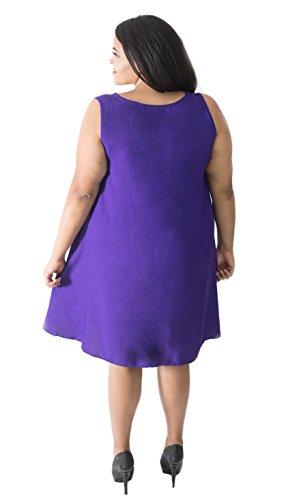 Beautybatik Chemisier - Femme Violet