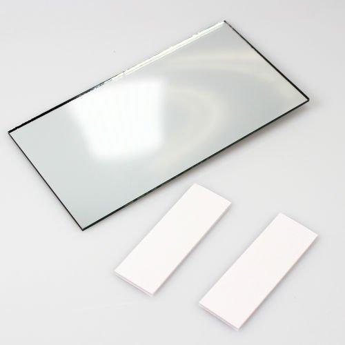 AutoScheich KFZ LKW Make-Up Spiegel Schminkspiegel Sonnenblende Innen Zusatz Rückspiegel