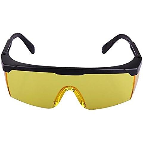 mccsafety Occhiali Protezione degli occhi Occhiali di sicurezza Occhiali Sabbia Polvere foot-shock-proof retrattile, 1