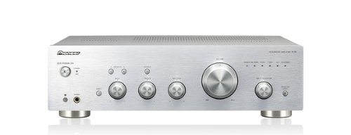 Pioneer A-30-S Stereo-Verstärker (2x 70 Watt, AUX, Tuner, Loudness-Funktion, Direct-Energy-Design) silber