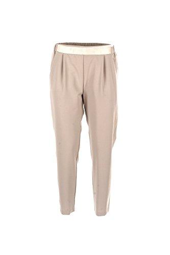 Pantalone donna imperial xs beige ptg4vfpbg primavera estate 2018