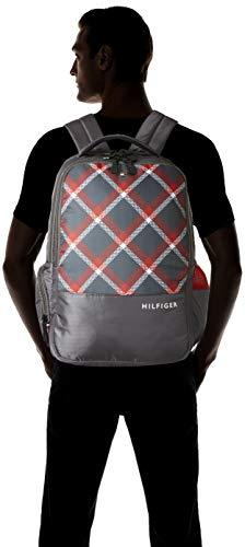 Tommy Hilfiger Alps 29 Ltrs Grey Laptop Backpack (TH/ALPSLAP07) Image 7