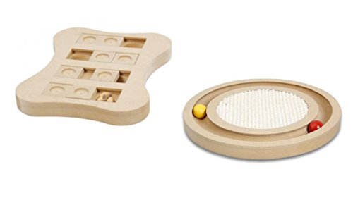 katzeninfo24.de Cajou Katzenzpielzeug zur Beschaftigung Holzspielzeug