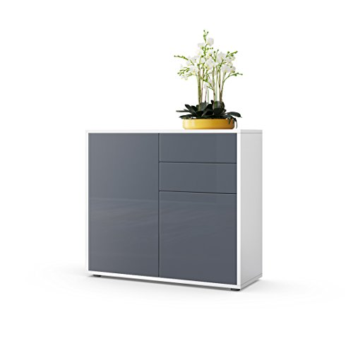 cabinet-chest-of-drawers-ben-carcass-in-white-matt-front-in-grey-high-gloss