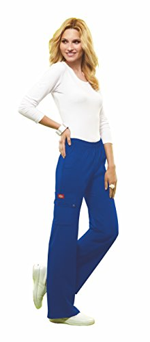 DICKIES XTreme Stretch Women's Elastic Waist Scrub Trousers 82012 Hospital/Medical/Nurse/Beauty Pants 11 Colours! XS-2XL
