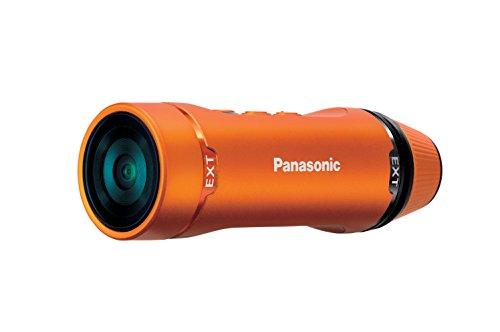 Panasonic HX-A1ME-D wasserdichte Action-Camcorder (Full HD, Nachtmodus, microSD) orange