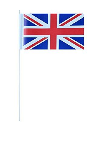 Flaggenfritze® Papierfahnen Großbritannien (Britische Möbel)