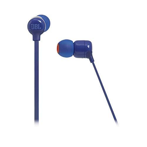JBL T110BT Cuffie In-Ear Wireless, Auricolari Bluetooth senza Fili Magnetici con Microfono e Comando a 3 Pulsanti, per Musica, Chiamate e Sport, fino a 8 h di Autonomia, Blu - 3