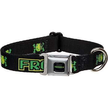 Frogger Dog Collar, Medium