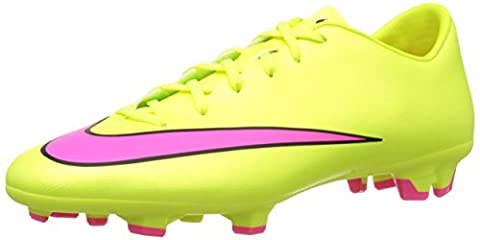 Nike Mercurial Victory V Fg, Men's Football Competition Shoes, Yellow (Volt/Hyper Pink/Black 760), 9 UK (44 EU)