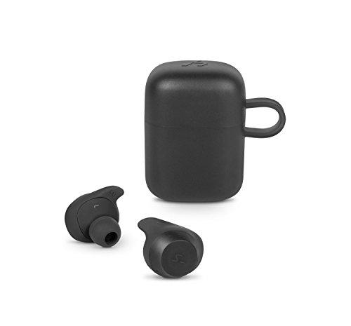SPC Heron - Auriculares Bluetooth (manos libres, asistente de voz, carga inalámbrica, IPX5, true wireless), negro