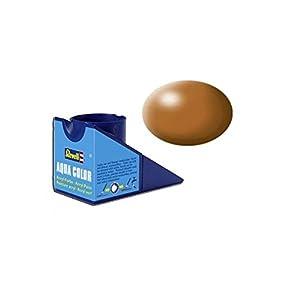 Revell 36382 Aqua Color - Pintura acrílica Mate Sedoso (18 ml), Color marrón Madera