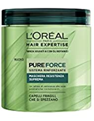 L'Oréal Hair Expertise Mask Pure Force 200 ml
