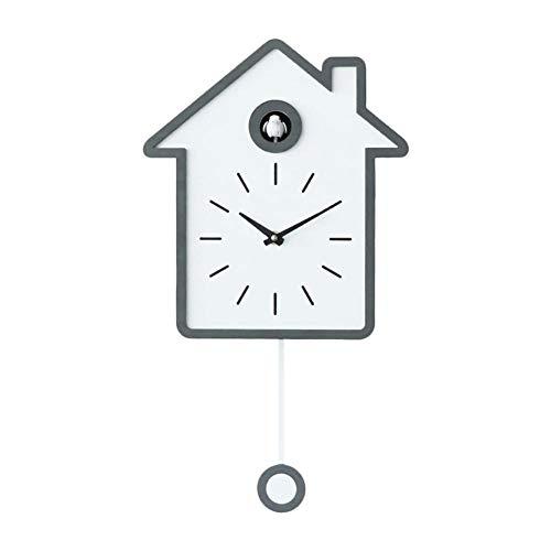 Moderne kleine Kuckucksuhr,Aufnahmen aus der Natur Moderne witzige Design Uhr für Wohnzimmer Schlafzimmer Lounge Küche Büro Kinderzimmer