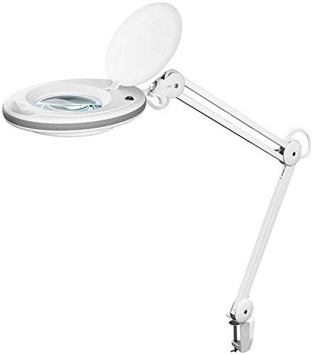 Fixpoint 45271 A+, Lupenleuchte, Plastik, 7.5 W, weiß, 6.5 x 75 x 23 cm