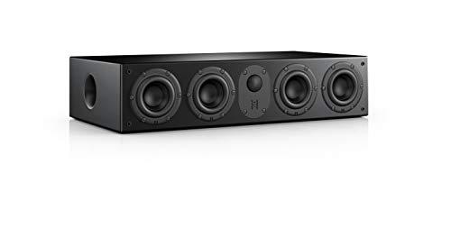 Nubert nuLine CS-64 Centerlautsprecher | Lautsprecher für Heimkino & Musikgenuss | Stimmen auf hohem Niveau | Passive Centerbox mit 2,5 Wege Technik Made in Germany | Kompaktlautsprecher Schwarz