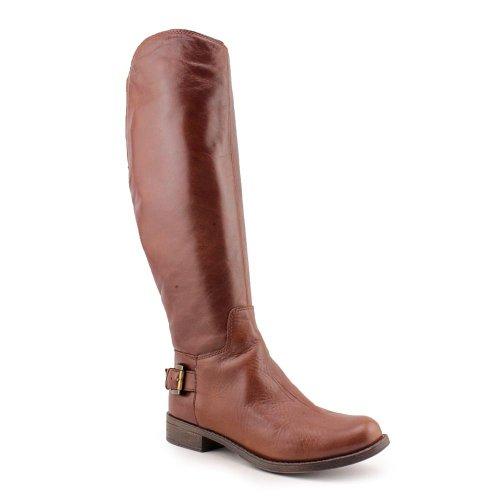 Guess Lurie Damen Braun Rund Leder Mode-Knie hoch Stiefel Gre Neu EU (Knie Hoch Rabatt Stiefel)