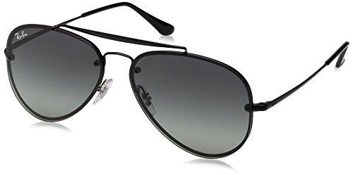 Ray-Ban RAYBAN Unisex-Erwachsene Sonnenbrille 0rb3584n 153/11 58, Demi Glos Black/Greygradientdarkgrey