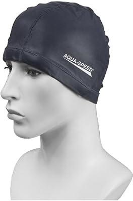 Aqua Speed–Gorro de natación–Licra + silicona