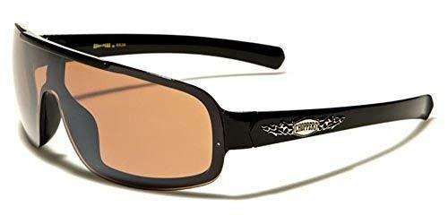Kleding en accessoires Brillen 2er Pack West Choppers Locs Old School Brille Sonnenbrille Herren Damen braun