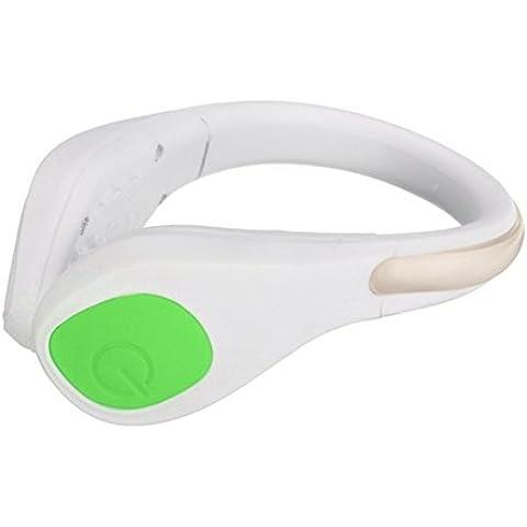 MaMaison007 Deportes de LED luminoso zapatos Clip luz noche seguridad ADVERTENCIA bicicleta ciclismo carrera deportes -