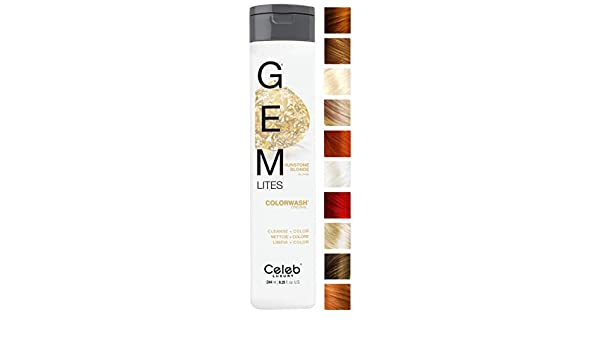 Celeb Luxury Gem Lites Semi Permanent Colourwash Shampoo Blonde