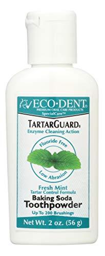 Eco-Dent Tartar Guard Baking Soda Toothpowder, Tartar Control Formula, Fresh Mint, 2 oz (56 g)