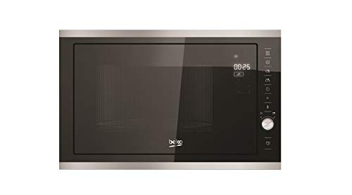 Beko - MGB25333X - Micro-ondes encastrable - Fonction Grill - 25 L - 900 W