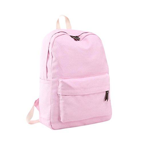Imagen de  escolares juveniles niña switchali lona bolsas escolares moda pijo  escolares niño  mujer casual  bolsas deporte viaje  baratas rosado