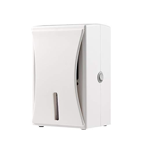 BAIYI Elektrischer Mini-Luftentfeuchter, kompakt und tragbar für feuchte Luftform-Feuchtigkeit in der Hauptküche Schlafzimmer Keller Caravan Büro Garage