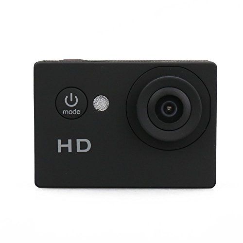 Opta Pro Sports Action Camera Dvr Recorder 720p, Up To 5mp, 140 Degree Hd Wide-angle With Water Proof Housing, Different Connection Accessories And Micro Usb 2.0 In (black)