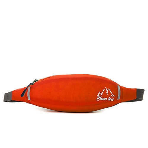 dushow Outdoor multifunktionale Waist Pack Tasche Orange