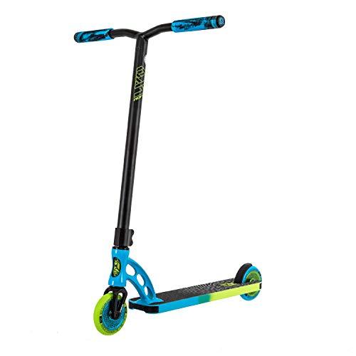 MADD MGP Gear VX9 Pro Freestyle Stunt Scooter Roller Kickscooter Tretroller Stuntscooter (blau/Lime)