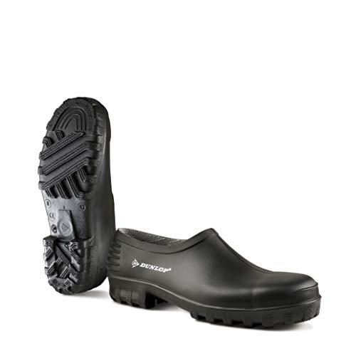 Dunlop Protective Footwear Unisex-Erwachsene Monocolour Wellie Shoe Clogs Schwarz (black) 43 EU