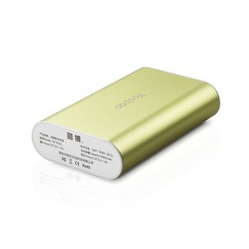 Generic 7800 MAh Power Bank (Green, M3)