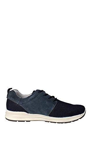 Imac 51151 Sneakers Homme Suède/tissu Bleu - Bleu