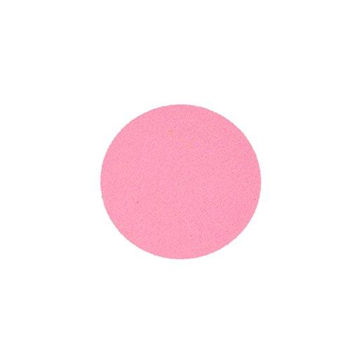 Filzuntersetzer Tassenuntersetzer Glasuntersetzer Tischschoner Filz Untersetzer rund ca. 4mm dick ca. Ø 10 cm Durchmesser (4 Stück ca. Ø 10 cm, 32 Rosa)