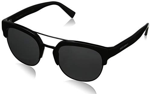 Dolce & Gabbana Herren 0DG4317 501/87 53 Sonnenbrille, Schwarz (Black/Grey),
