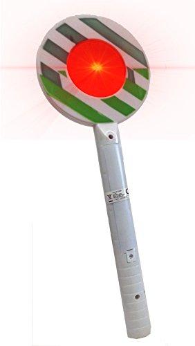 Brigamo 3872 – Bundespolizei Spielset mit Polizei Cap und PolizeiKelle mit LED Licht - 3