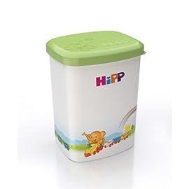 Benail Formula/Dispenser Portable Milk Powder Formula Dispenser Container Pot Box Milk Cans Storage Box for Travel and Outdoor Activities 4-Layer/2/Pack Blue