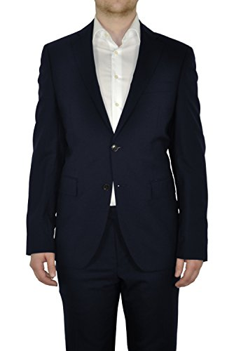 Michaelax-Fashion-Trade -  Blazer  - Basic - Maniche lunghe  - Uomo Dunkelblau (37)