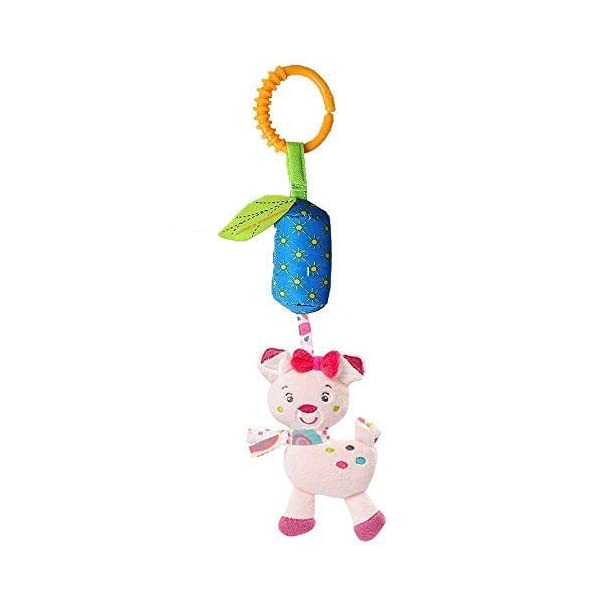 Leedemore-Infant Baby Rattle Toys, Kids Stroller Hanging Bell 3