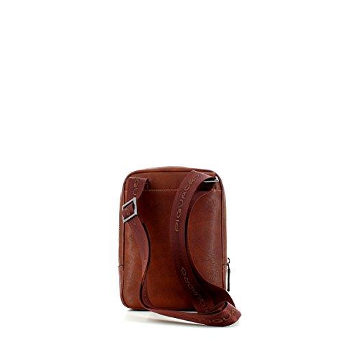 Borsello per iPad« mini in pelle cuoio cognac, braun